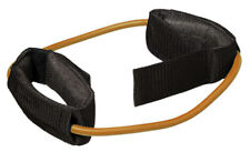 Cando 10-5767 Exercise Tubing With Ankle Cuffs Exerciser 48 Inch Gold Xxx-heavy