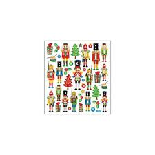 Scrapbooking Crafts Stickers Sticker King Nutcrackers Christmas Trees Presents
