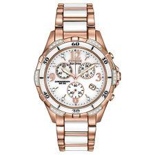 Citizen Eco-Drive Silhouette Women's FB1233-51A Chrono Two-Tone Bracelet Watch
