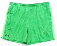 Under Armour Heatgear UA MK 1 Green Printed Athletic Shorts Men's NWT