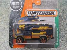 MATCHBOX 2016 # 122/125 MBX PROSPECTEUR Route TRIPPER noir Explorateurs étui F