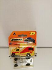 Matchbox Ford AMBULANCE #25 On CARD BLISTER