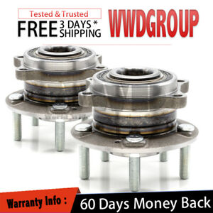2x Rear Wheel Hub Bearing Assembly Replacement For 2011-2015 Kia Sorento 4WD
