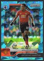 2019-20 Prizm Premier League BLUE ICE 67 Anthony Martial 23/75 Manchester United