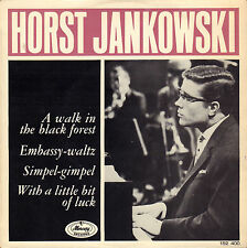 """HORST JANKOWSKI – A Walk In The Black Forest (1965 VINYL EP 7"""" HOLLAND)"""