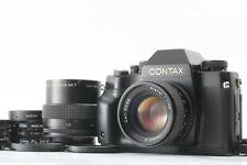 【N MINT+++】CONTAX RX 35mm Film Camera + Planar 50mm F/1.4 MMJ from Japan #30