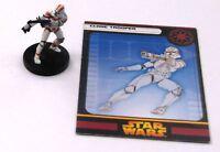 Star Wars Miniature: CLONE TROOPER # 10J77