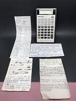 Radio Shack EC-4021 Programmable Scientific Calculator | Case | Financial