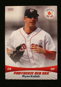 2011 Choice SportsCards Pawtucket Red Sox Cards 1-30 Pick Your Player Paw Sox