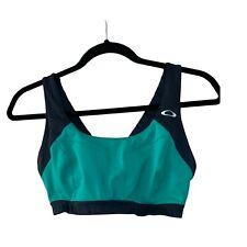 Oakley Womens Blue Teal Sports Bra  Size: M