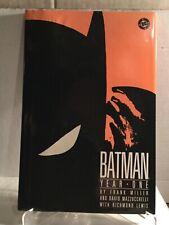 Batman Year One ~ Hardcover HC by Frank Miller ~ 1988 Dark Knight DC 1st Ed