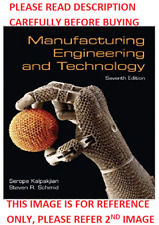 Manufacturing Engineering and Technology by Kalpakjian 7th Intl Softcover Ed Sam