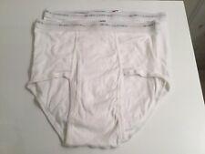 Vtg Hanes Classic 80s 2 Pr. Nos Mens Brief Underwear Sz 36 Made In Usa