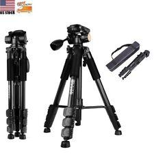 Q111 Portable DSLR Camera Tripod Heavy Duty Monopod with Pan Head For Nikon