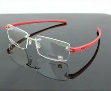 RARE NEW Genuine TAG HEUER Reflex Cardinal Red EyeGlasses Frame TH 3941 012
