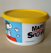 Tupperware Snoopy Canister One Touch Seal 6 Cup New
