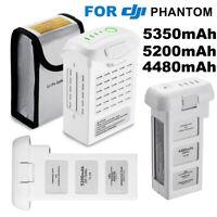 For DJI Phantom 2, 3, 4 Drones Intelligent LiPo Replacement Filght Battery White