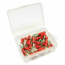 35pc 3mm Wire Red Spade Female Terminal Assortment Kit AST35