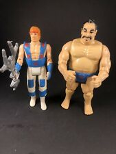 Chuck Norris Kung Fu Training GI and Tabe Karate Kommandos Figures 1986 Kenner