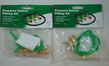 LOT OF 2! NEW! PRO PLUMBER PRESSURE SWITCH FITTING KIT PPFKNL BRASS LOWES #29834