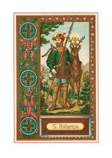Heiliger Hubertus Schutzpatron Jagd Natur Hirsch Umwelt St. Bü Sankt A3 0094
