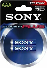 61ad4ce78eb NEW Sony Stamina Plus Alkaline AAA Batteries 2-Pack Long Lasting Premium  Battery