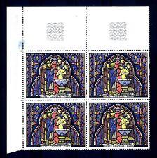 FRANCE - FRANCIA - 1966 - Vitrail de la Sainte-Chapelle Baptême de Judas MNH (A)