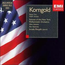Korngold: Piano Trio, Violin Sonata (CD, BMG. EMI) New York Philharmonic