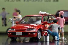 [TLV NEO Diocolle 02a 1/64] CAR WASH 02a - HONDA CIVIC 25XT 1989 (Red)