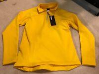 Womens Size Sz L Large Shirt Long Sleeve Women's Yellow Sweatshirt Pull Over nwt