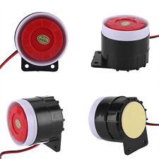 1xDC 12V Alarm Alert Speaker Buzzer Horn 110dB For Home Secure & Alarm System OB