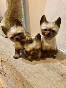Bristolia Japan Siamese Cat Ornament