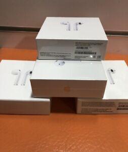 Apple AirPods 2ª Generación Inalámbricos Estuche De carga inalámbrica blanca