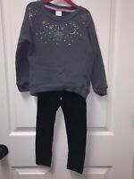 Gymboree/Cat & Jack Girls Outfit Top (Size 5-6), Bottoms (Size 4-5)
