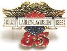14049 HARLEY DAVIDSON PIN BADGE 85th YEAR EAGLE BAR & SHIELD LOGO MOTORCYCLE