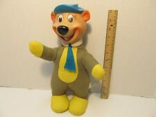 Vintage Plush Knickerbocker Toy Hanna Barbera Yogi Bear Huckleberry Hound 1961