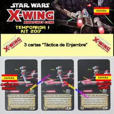 "STAR WARS X-WING 2017 T1 OP KIT ESPAÑOL - 3 ""Táctica de Enjambre"" X-Wing"