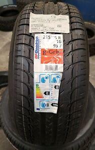 BF Goodrich g-Grip - 215/55 R16 93V - New Tyre