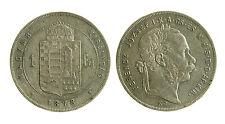 pcc2033_38) Österreich  Ungheria Florin Fiorino  1878 FERENCZ I