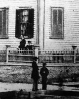 New 8x10 Photo: Abraham Lincoln and sons at his Home in Springfield, Illinois