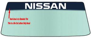 FOR NISSAN WINDSHIELDS BANNER GRAPHIC DIE CUT DECAL/STICKER VINYL DECAL