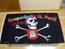 Fahnen Flagge Hamburg Reeperbahn St. Pauli - 90 x 150 cm