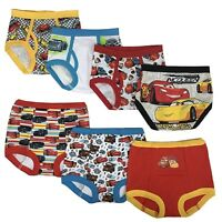 Disney Cars Toddler Boys' 3pk Training Pants and 4pk Briefs COMBO PACK
