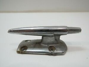 3+5/8 INCH OLD RETRO CHROME BOAT CLEAT DOCK (D2A199A)