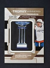 2018-19 UD O-Pee-Chee OPC Trophy Winners Patches #P-12 Washington Capitals
