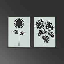 Sunflower Stencil Flower Mylar Sheet Painting Wall Art Kid Bedroom 190 Micron