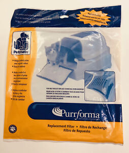 (1) Petmate Purrforma Litter Box Monthly Replacement Filter Jumbo/Extra Large