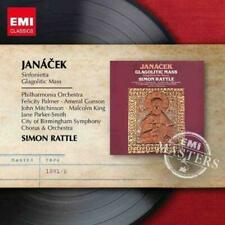 Sir Simon Rattle - Janacek Glagolitic Mass Sinfonietta (NEW CD)