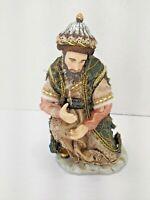 Members Mark Wise Man Porcelain Figure Hand Painted Nativity Christmas Scene '06