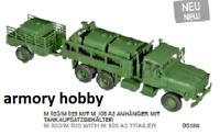 Roco miniTanks 5186 (570) M923/ M 925 w/ M 105 A2 trailer & 3 fuel tanks